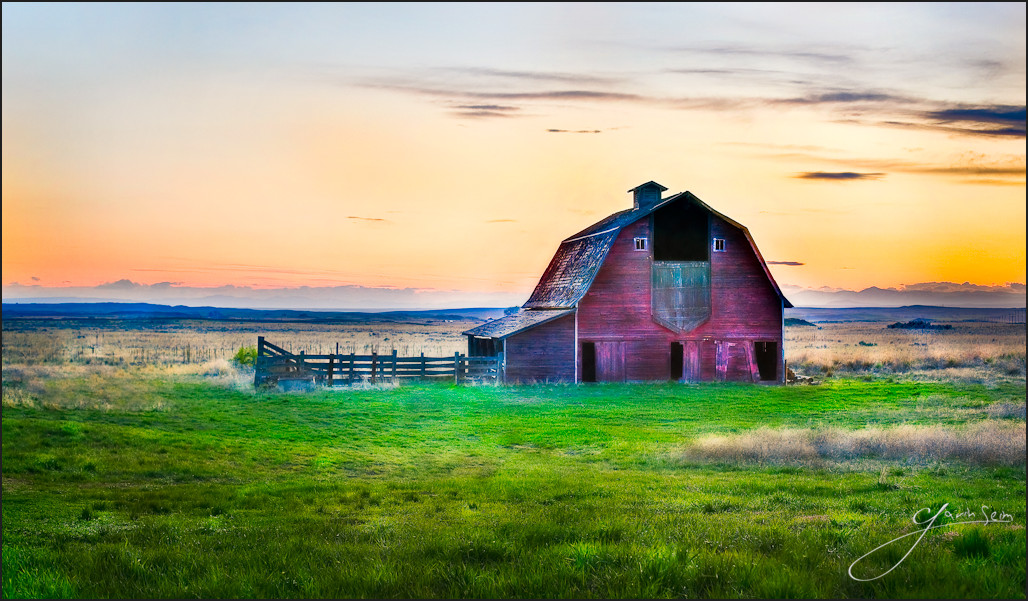 whsipering barn washington landscape The Whispering Barn: