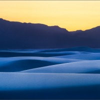 Peyote Dusk - White Sands NM, 2012