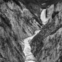 Crags of Yellowstone Falls