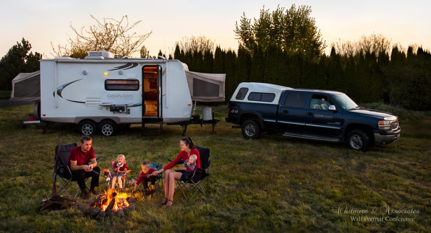 Gavin Seim Family Portrait 2012 880x476 Super Camping: How A Photographer & His Family Spend Months Road Tripping