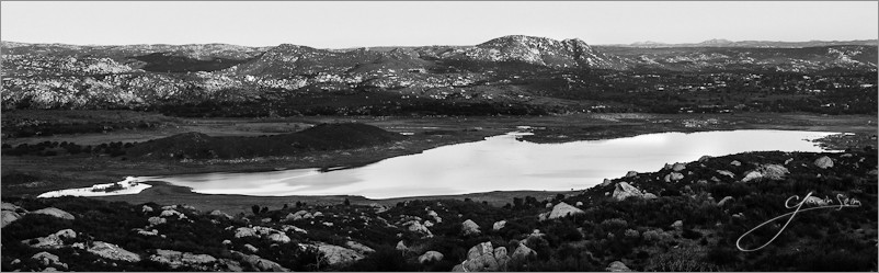 Seim  1 3 Morena Sunset   Morena Reservoir CA.