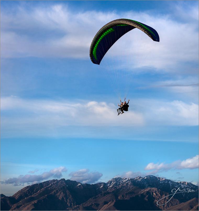 First Flight Gavin Seim Paragliding First Flight   The Gliding Saga, Utah