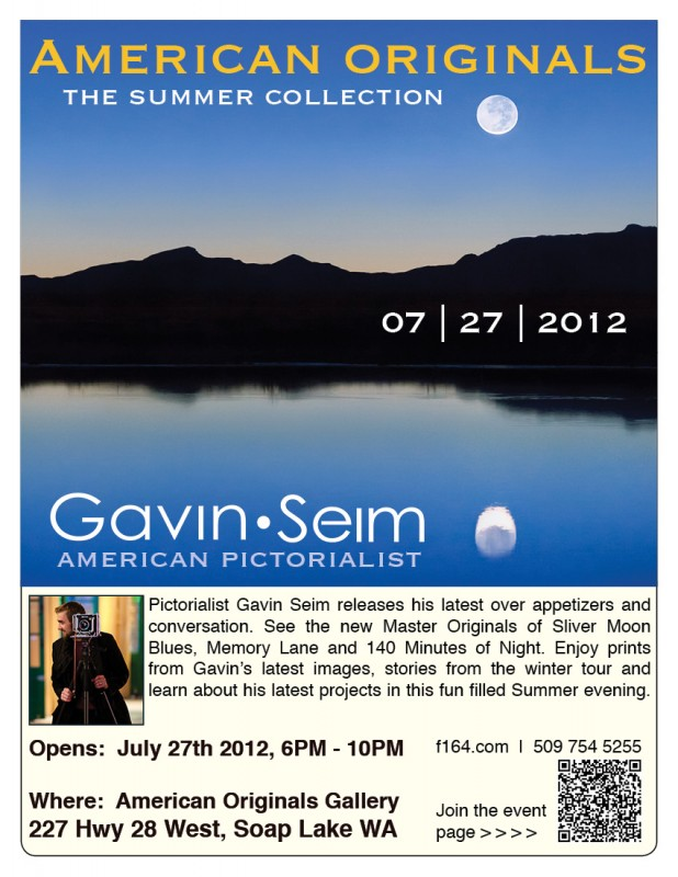seim summer show 618x800 Join Gavin at the Gallery for the Summer Collection Opening | 07/27/12