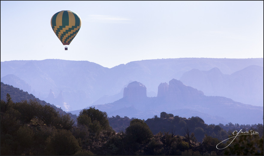 Seim Sedona Hot Air Baloons2 A 3 Month Photographers Road Trip   Day 91, The End