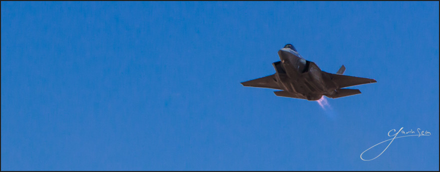 F-35 Lightning taking off from Lubbock International, April 2013